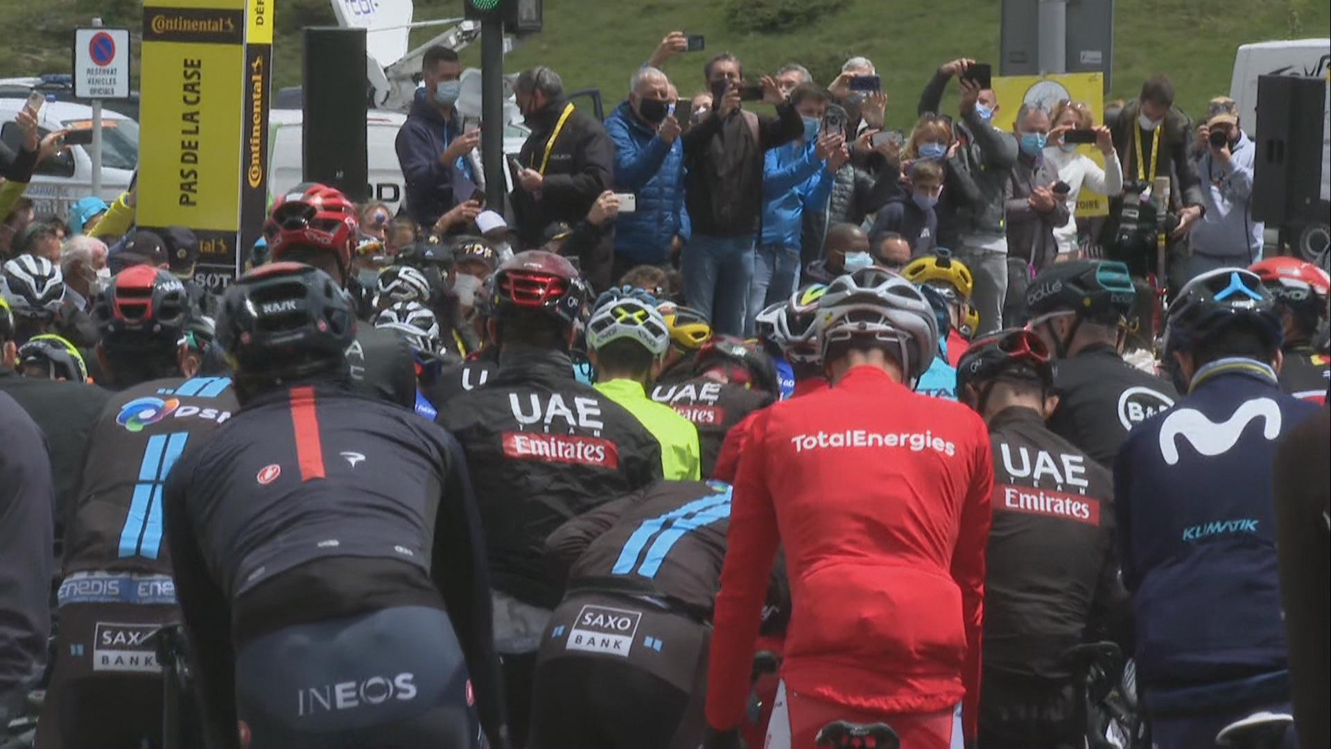 El Pas de la Casa acull la sortida de la 16a etapa del Tour de França