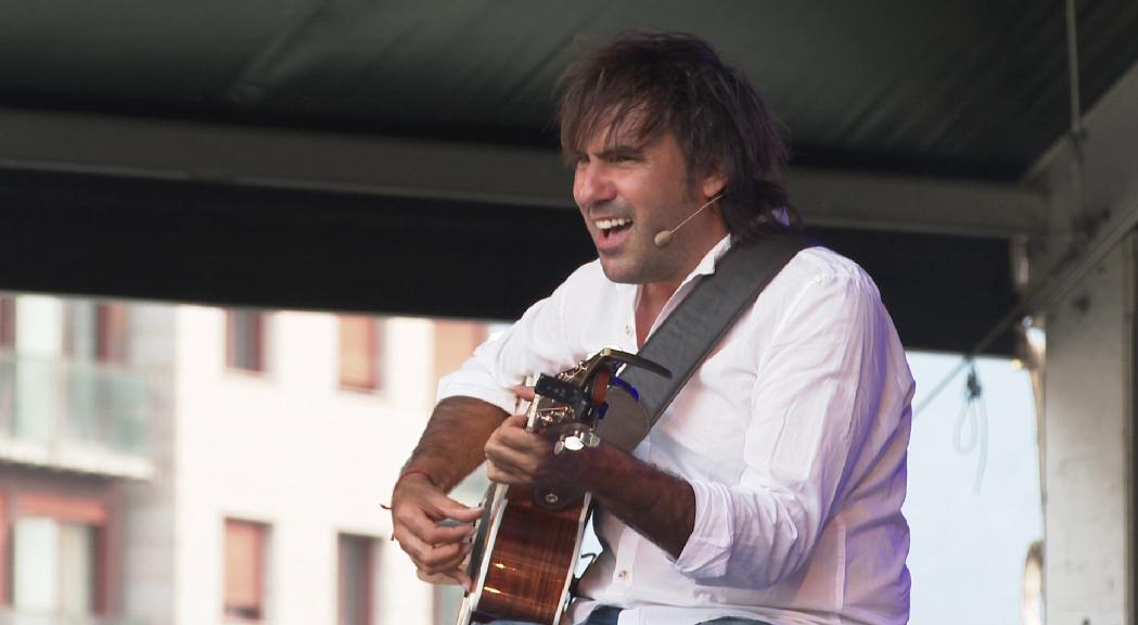 Patxi Leiva tanca els concerts de la festa major d'Escaldes-Engordany