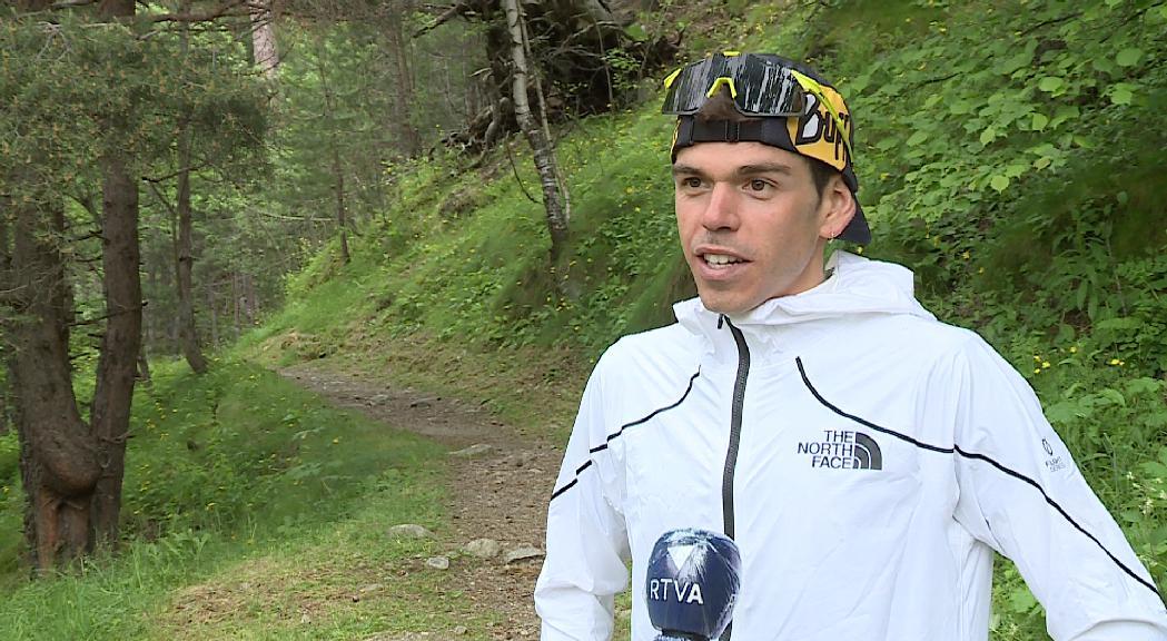 Pau Capell disputarà la Travessa d'Encamp per preparar l'atac al rècord de l'UTMB