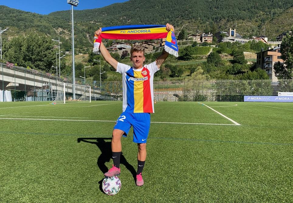 Pau Martínez, quart fitxatge del FC Andorra per a la propera temporada