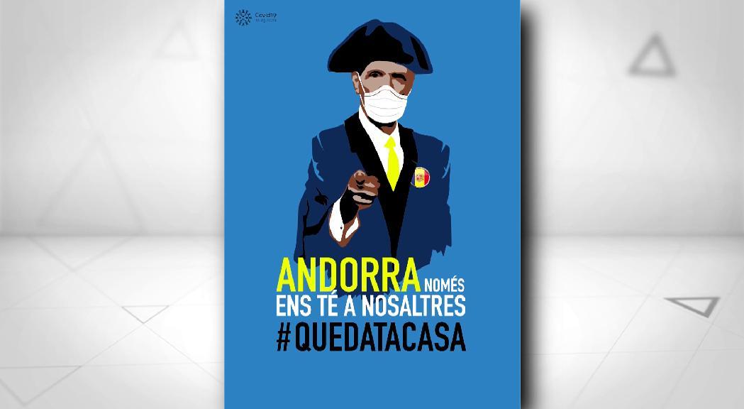 Pere Moles posa il·lustracions a la campanya #QUEDATACASA