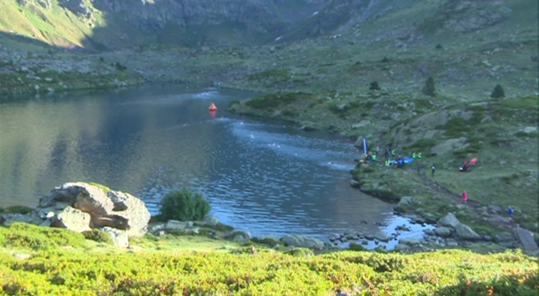 Perilla la segona Andorra Swimrun als llacs de Tristaina