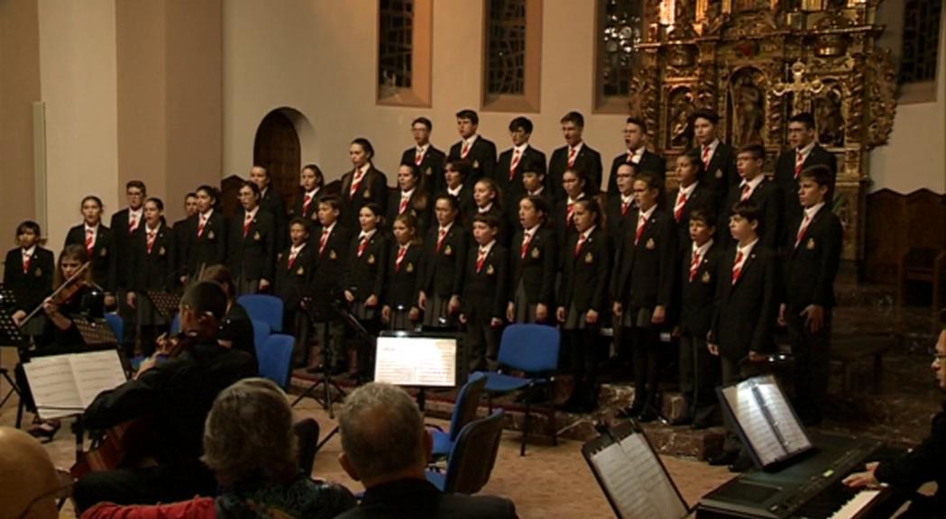 Els Petits Cantors i el prestigiós Institut auf dem Rosenberg de Suïssa s'uneixen en el concert de maig