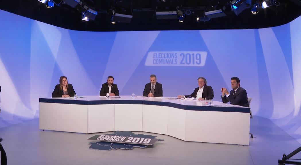 Picabaralles sobre les finances i discussions sobre turisme sostenible i habitatge entre els candidats d'Ordino a ATV