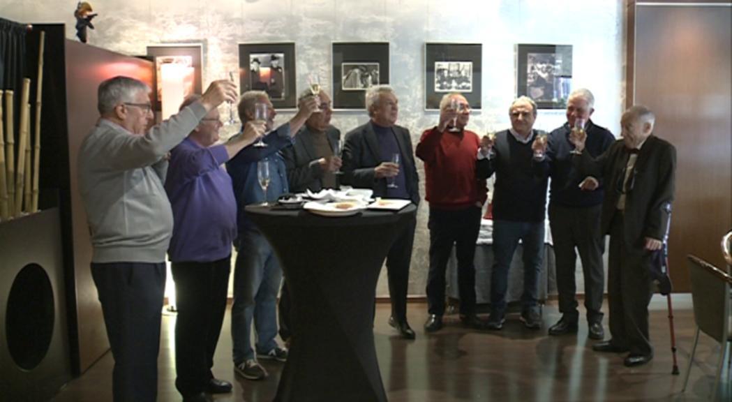 Els pioners del rugbi andorrà celebren un any més l'aniversari del campionat d'Espanya de segona divisió