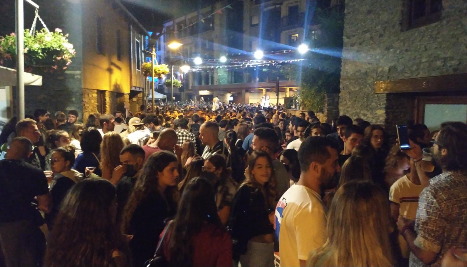 Ordino suspèn els actes nocturns de les festes del Roser per les aglomeracions d'aquest dissabte