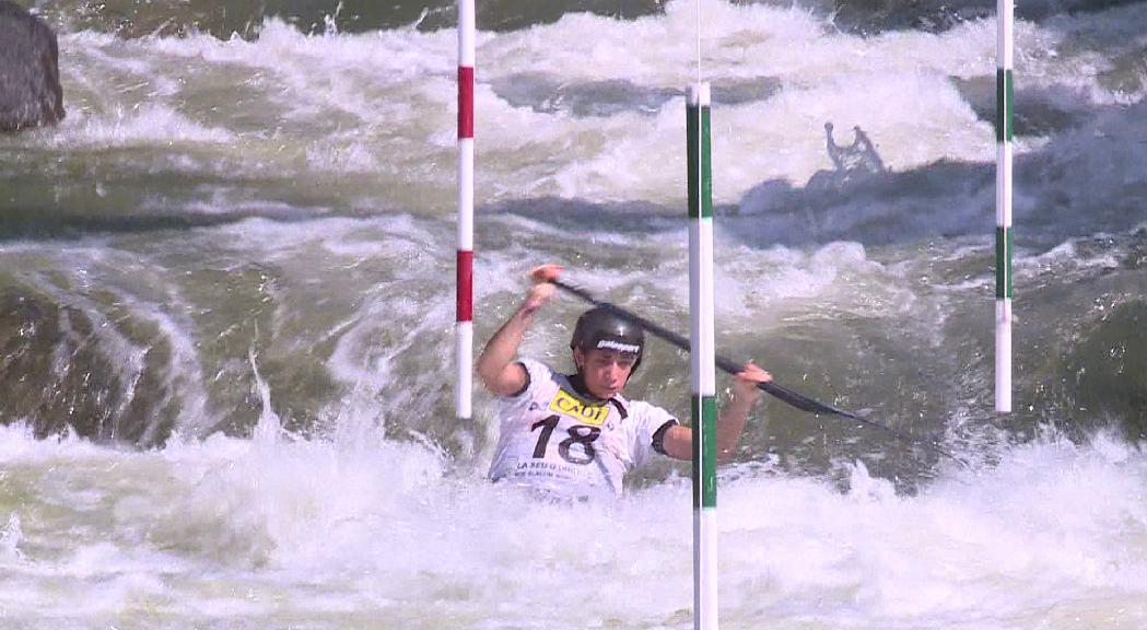Places olímpiques en joc al Mundial de canoa i caiac de la Seu d'Urgell