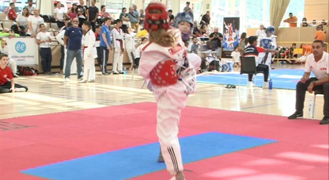 Ezoe Alberola ha firmat la millor actuació del Taekwondo C