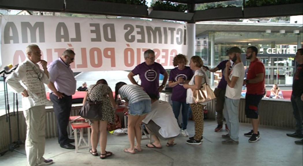Podem Andorra convocarà per segon any una acampada contra els elevats preus dels lloguers