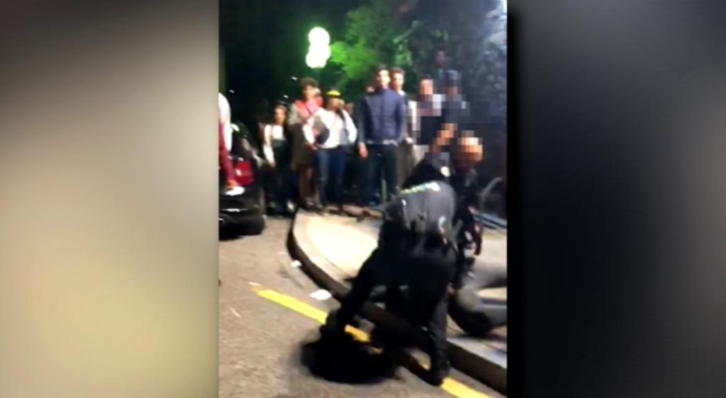 La policia defensa la seva actuació durant els aldarulls de la festa major de Sant Julià