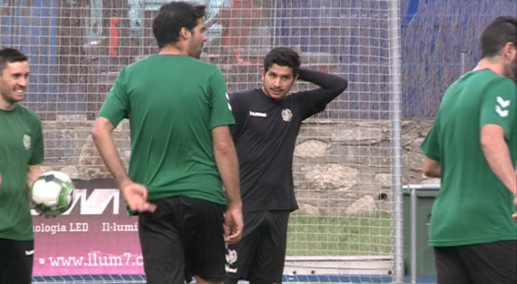 El porter del Sant Julià Nico Ratti, nou reforç de l'FC Andorra