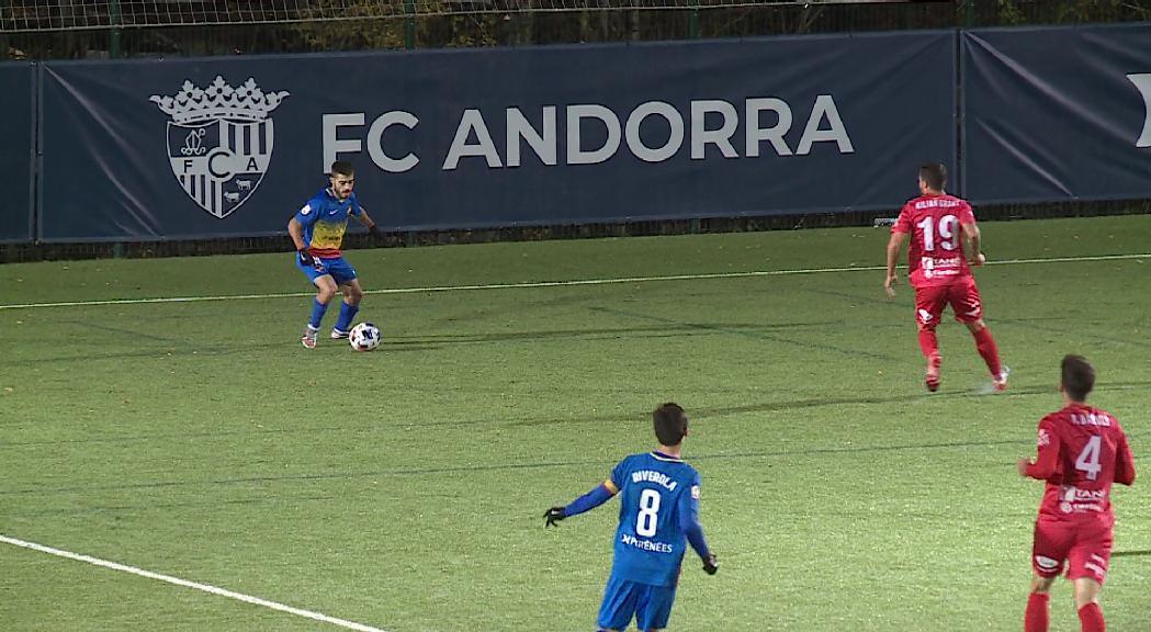 Els positius del FC Andorra obliguen a ajornar el partit contra el Prat