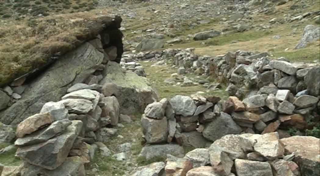 Possible dolmen a la ruta dels Orris d'Encamp