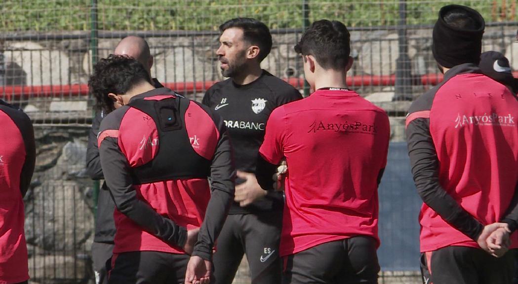 El Prat posarà a prova la fortalesa mental del FC Andorra, que suma dues derrotes consecutives