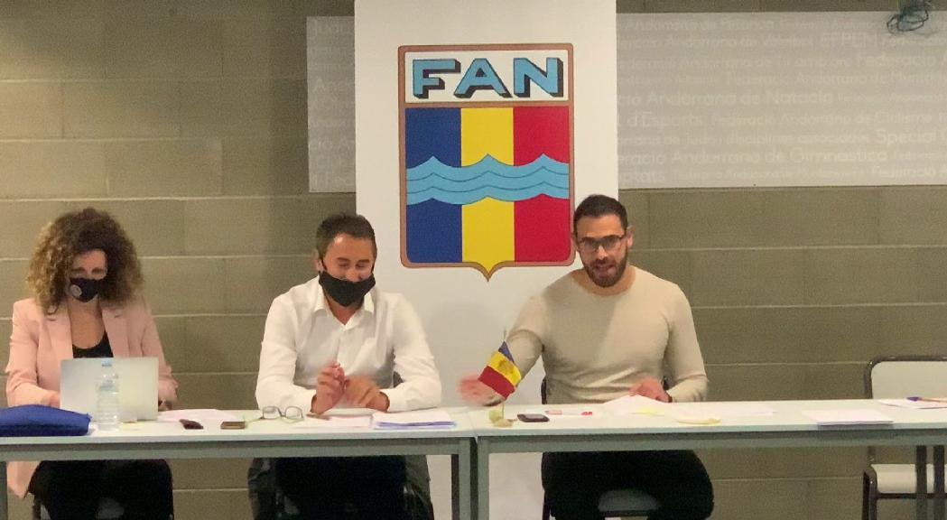 Pren possessió el nou president de la FAN, Joan Clotet