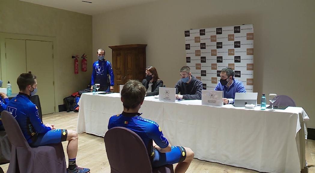 Presentat el nou equip ciclista Hotel Ski Plaza Cycling Team