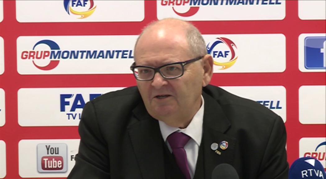 El president de la Federació de Futbol no ha de respondre per apropiació indeguda