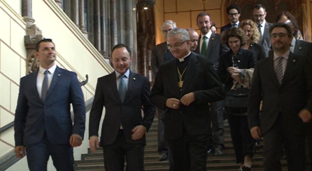 Primera trobada oficial del nou Govern amb el Copríncep episcopal