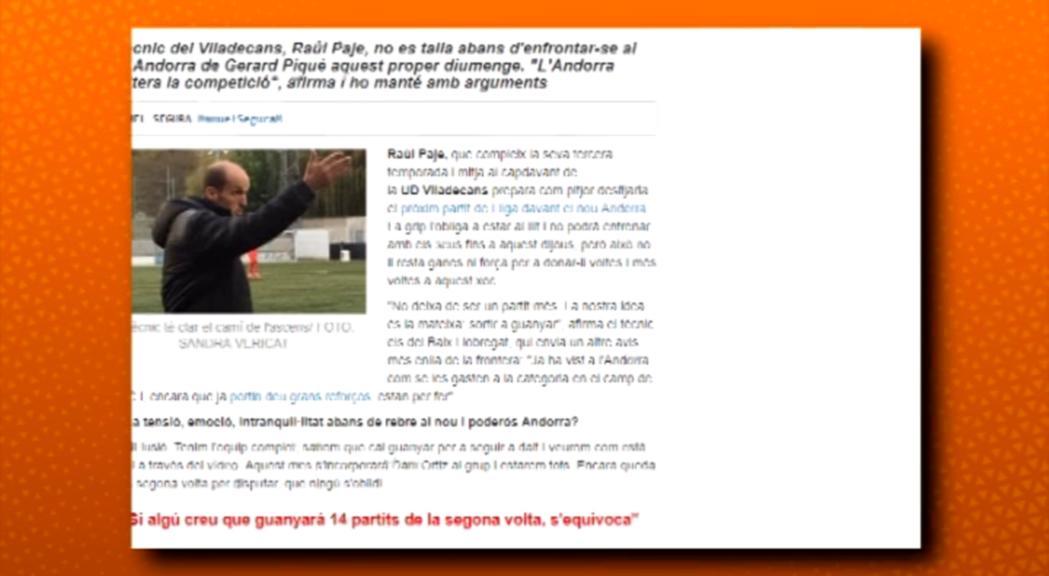 Primeres crítiques des de Catalunya al nou FC Andorra
