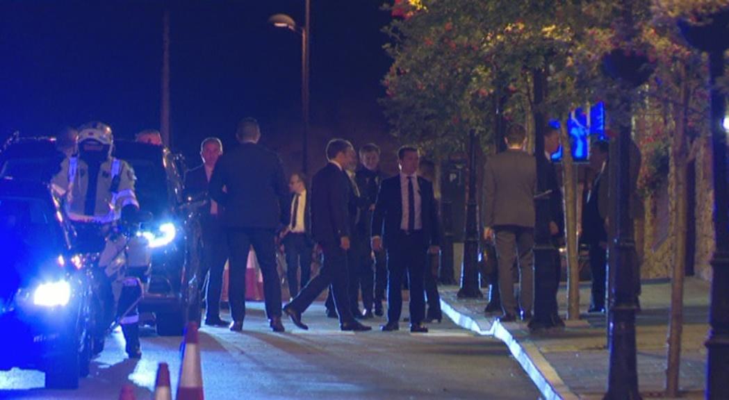 Primeres imatges de Macron a Andorra