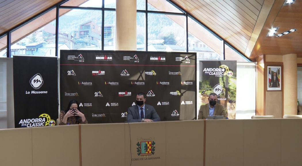 La prova de BTT de l'Ironman espera reunir 400 participants l'estiu vinent a la Massana