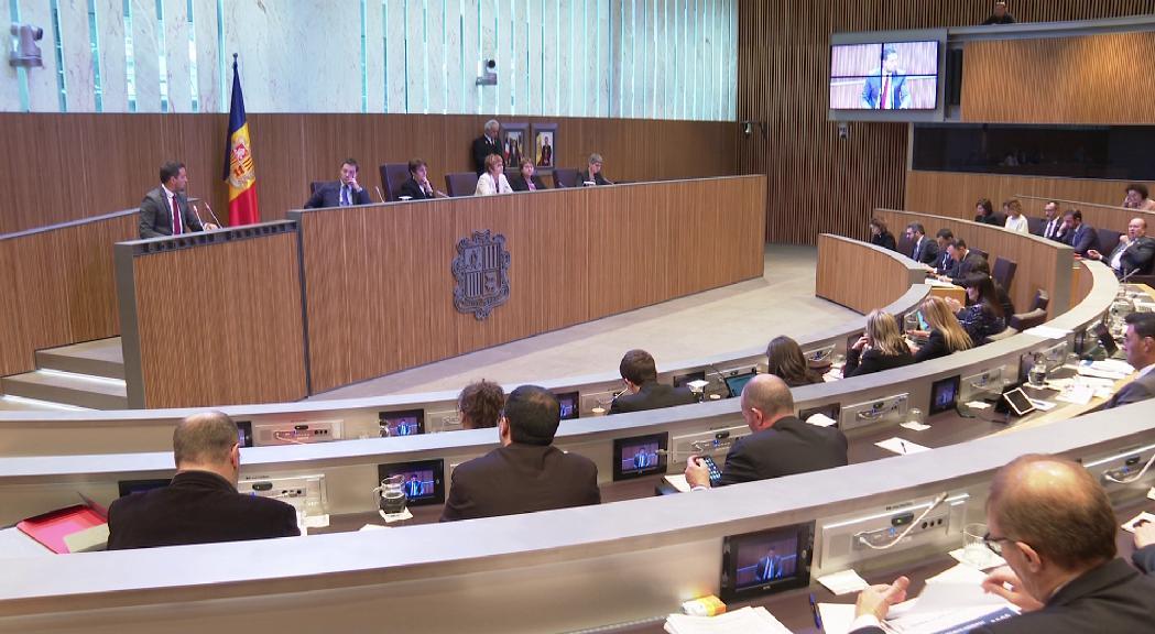 El PS presenta 10 reserves d'esmena a la llei del pressupost que es votarà dijous vinent