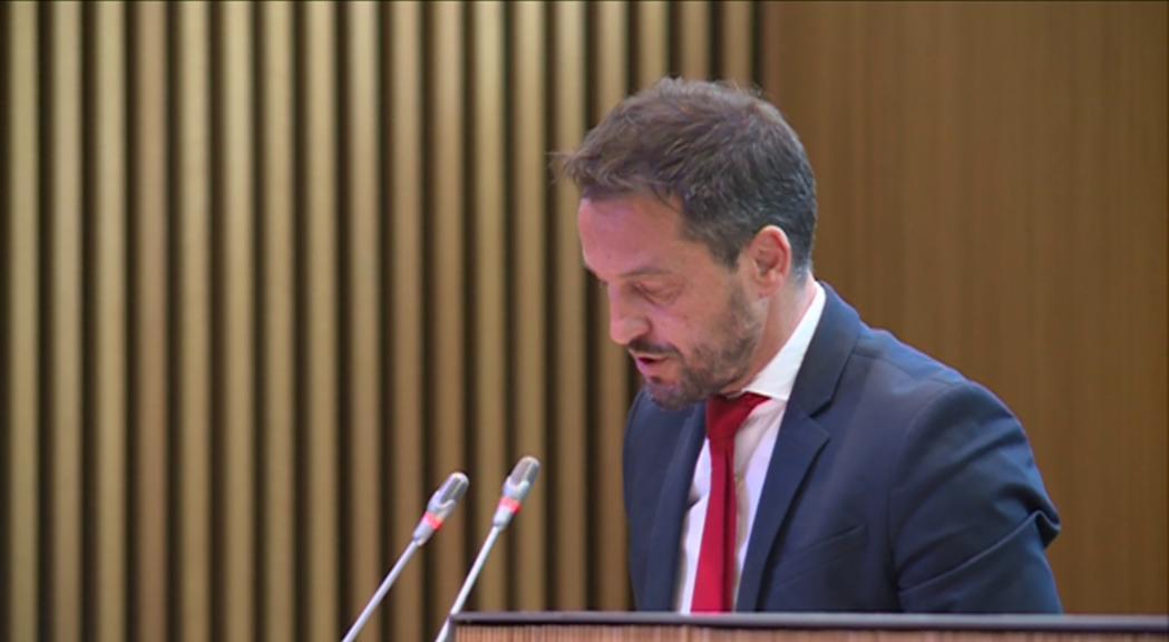 Pere López demanarà que el Govern expliqui al Conse