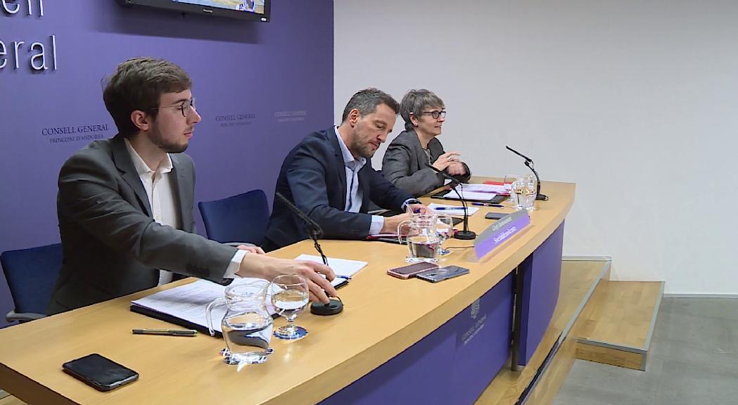 El PS vol un pressupost més social i Terceravia reclama una reducció de despesa