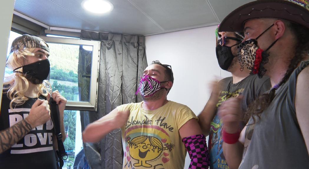 Després de deu anys sobre l'escenari Els Punkers Love the 80's e