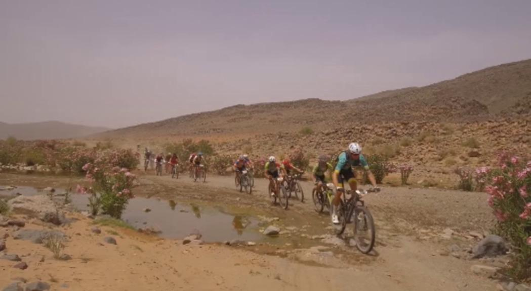Purito Rodríguez entra en 32a posició en l'etapa reina de la Titan Desert