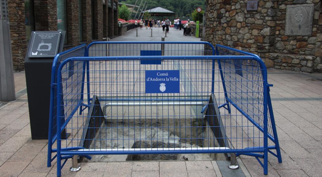 Quatre detinguts per colar-se dins l'antiga presó del quart d'Andorra la Vella