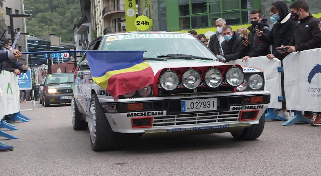 El Ral·li d'Andorra Històric ja està en marxa