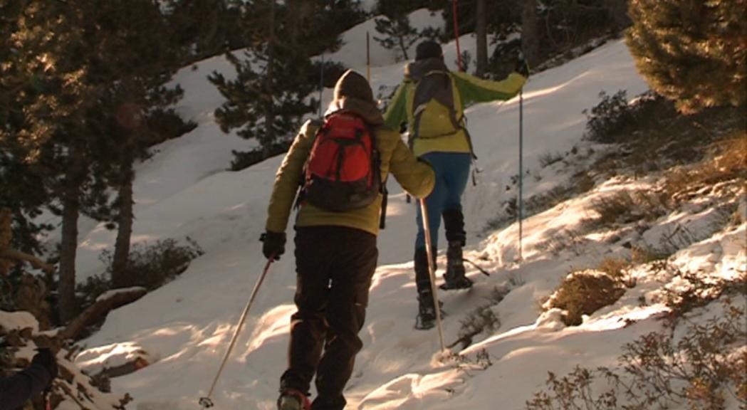 Les raquetes de neu, una alterativa més per gaudir de la muntanya