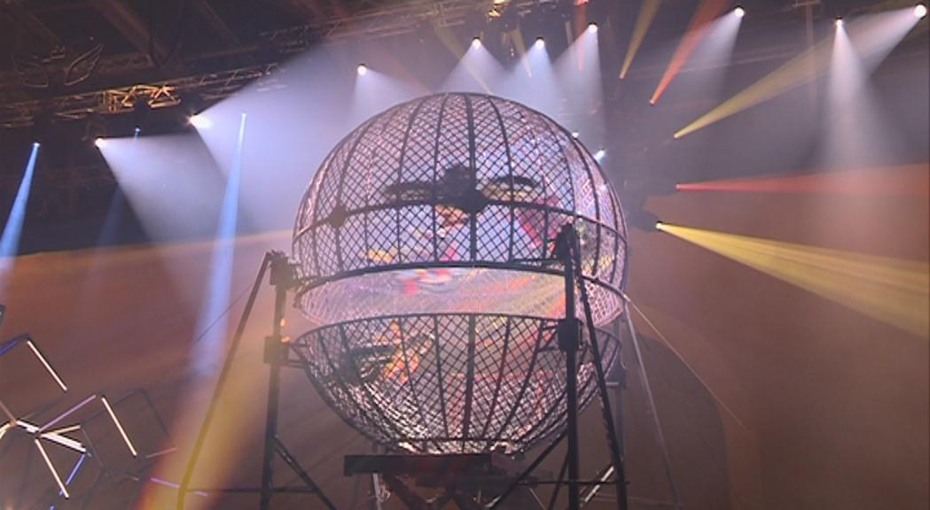"""""""Rebel"""" del Cirque du Soleil s'acomiada superant els 100.000 espectadors i amb el futur incert"""