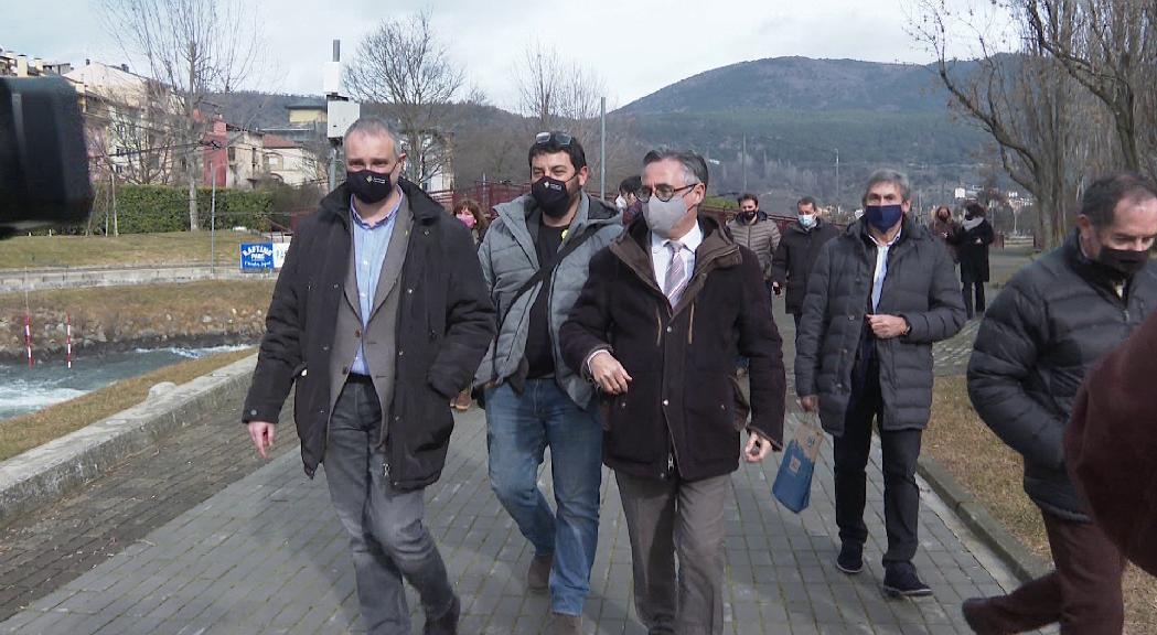 La Generalitat veu factible restablir el trànsit entre Andorra i l'Alt Urgell a curt termini si la pandèmia no s'agreuja