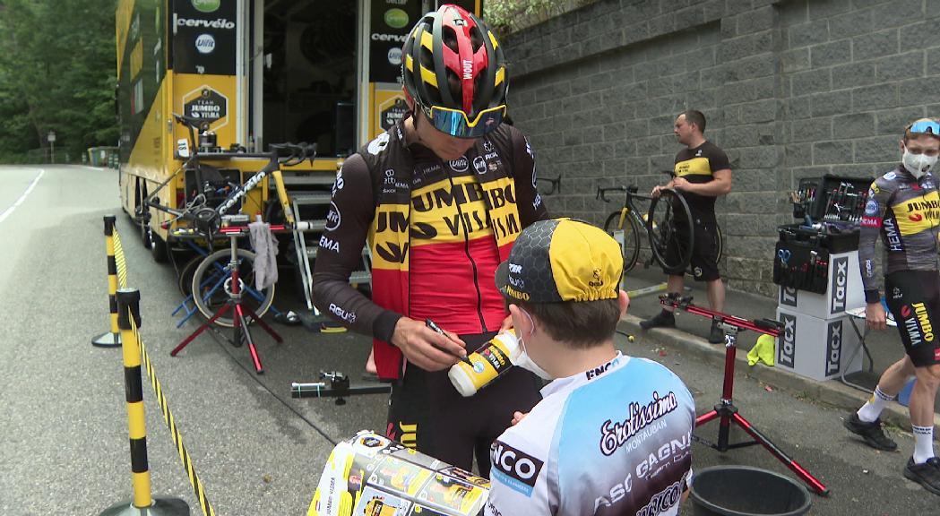 Recuperar forces i contacte amb l'afició, claus de la jornada de descans del Tour de França al Principat