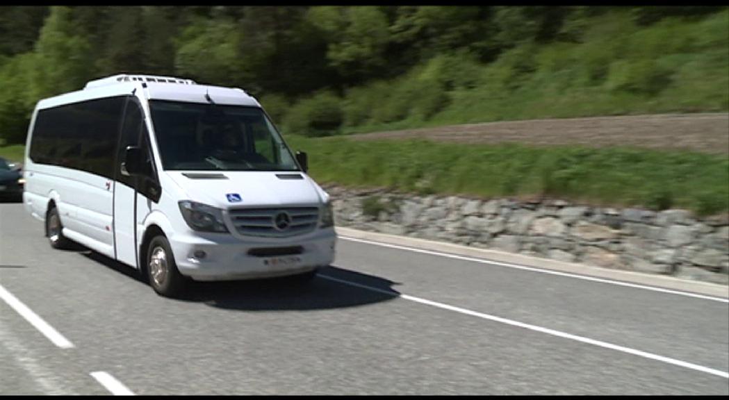La poca afluència de passatges del bus parroquial d'Ordino