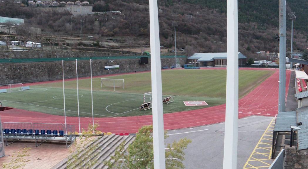La remodelació de l'estadi Joan Samarra, després dels Jocs dels Petits Estats del 2021