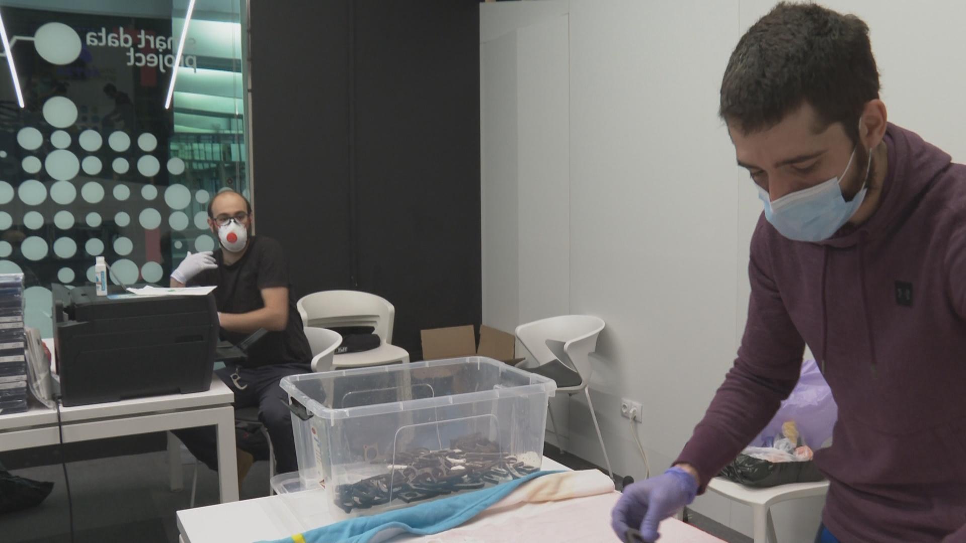 Reportatge: Andorra Makers, solidaritat en 3D per lluitar contra el coronavirus