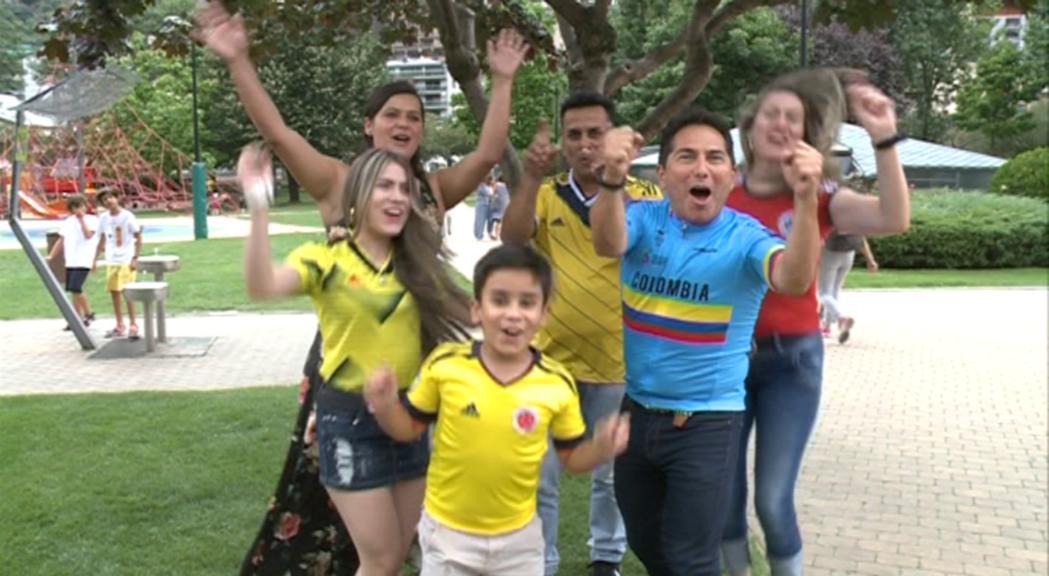 Els residents colombians viuran amb passió l'etapa de la Vuelta a Andorra
