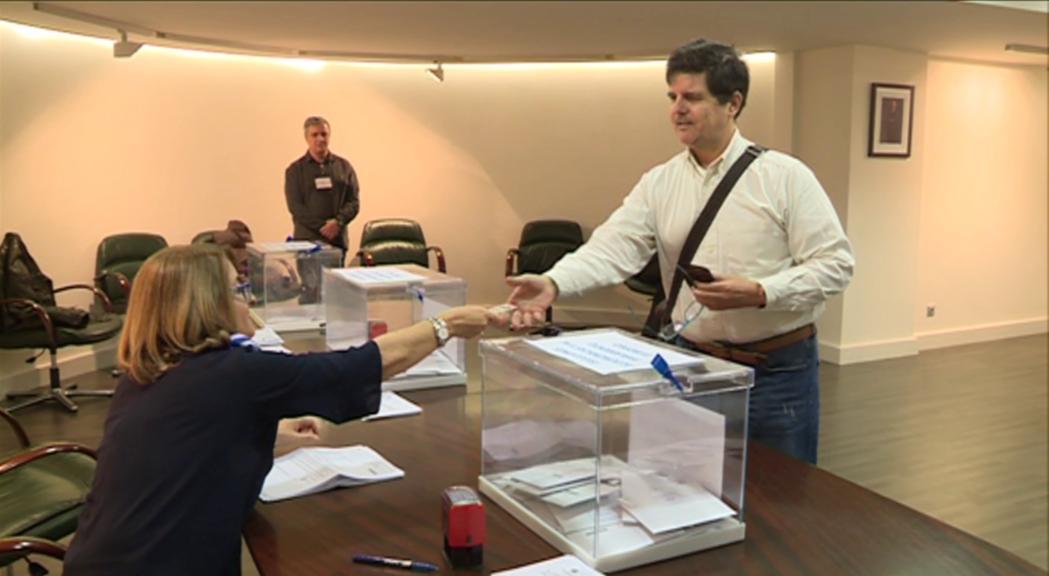 El residents espanyols ja poden votar a l'ambaixada en les eleccions europees