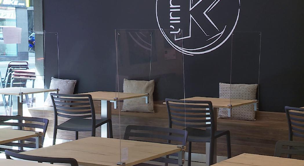Els restaurants ultimen la reobertura extremant mesures per evitar contagis de Covid-19