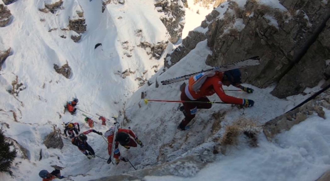 Resultats discrets dels andorrans en la cursa vertical del Mundial d'esquí de muntanya
