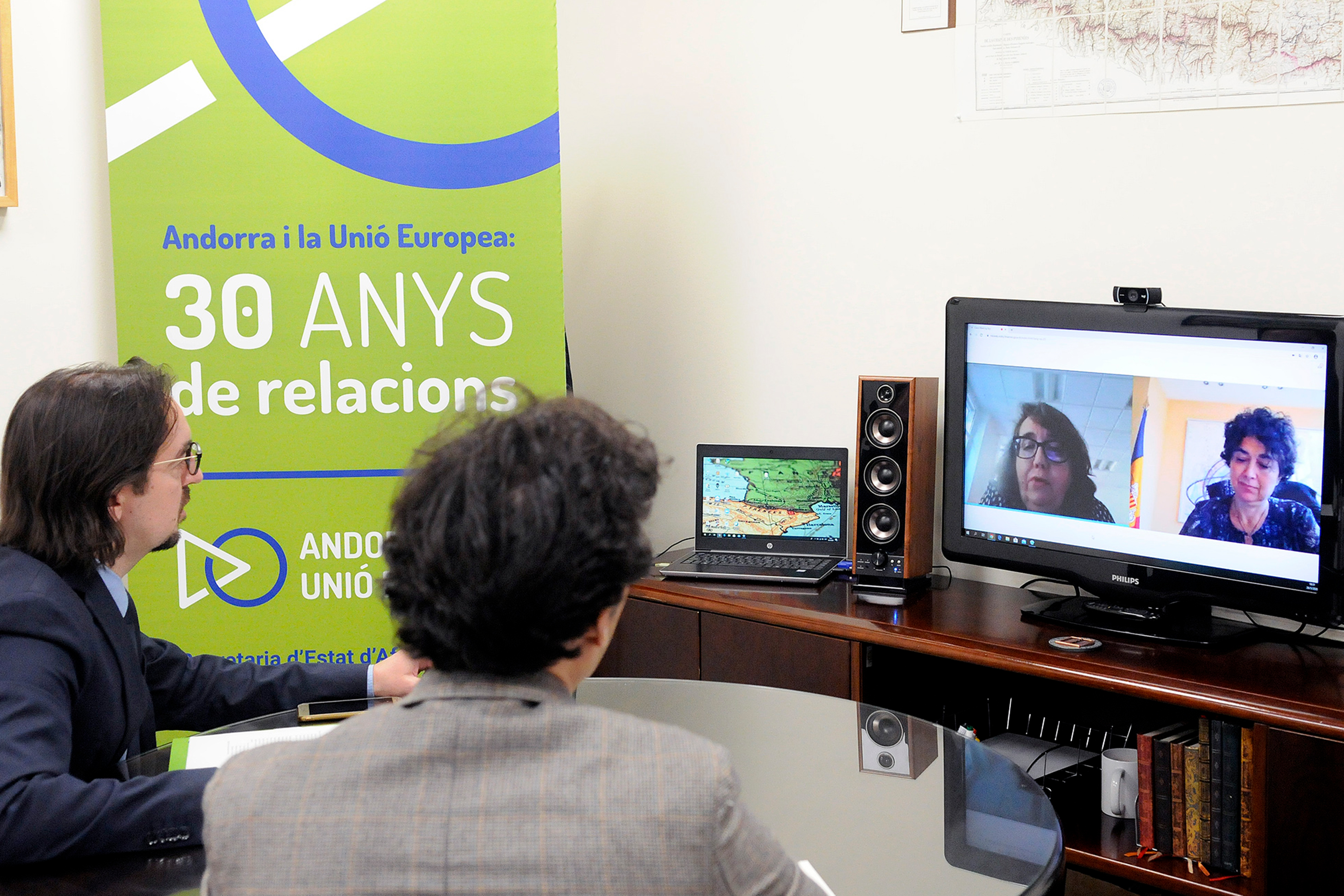 Riba es reuneix amb l'homòloga francesa per valorar l'estat de les negociacions per a l'acord d'associació
