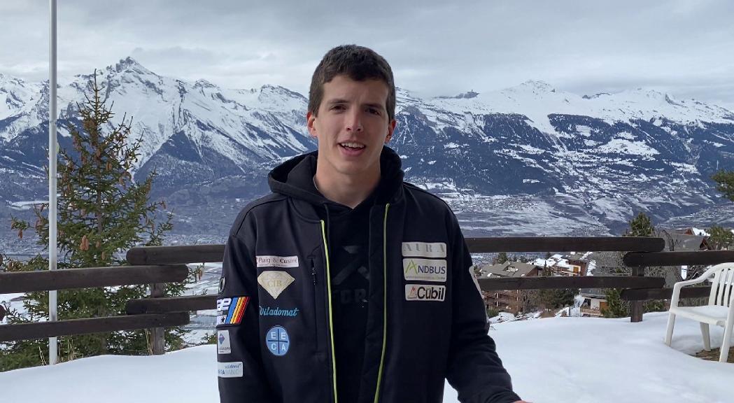 Roger Puig, acaba 21è al segon gegant de la Copa del Món a Suïssa