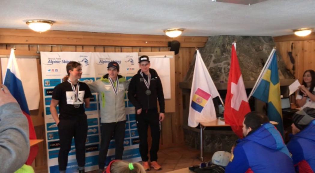 Roger Puig és coronat campió d'Europa d'esquí paralpí