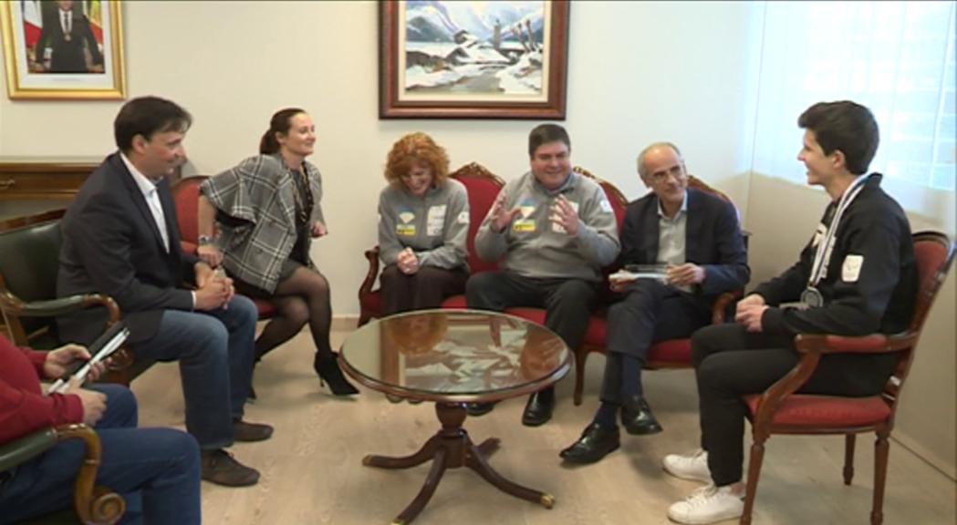 Roger Puig rep les felicitacions del Govern i demana més suport per seguir avançant