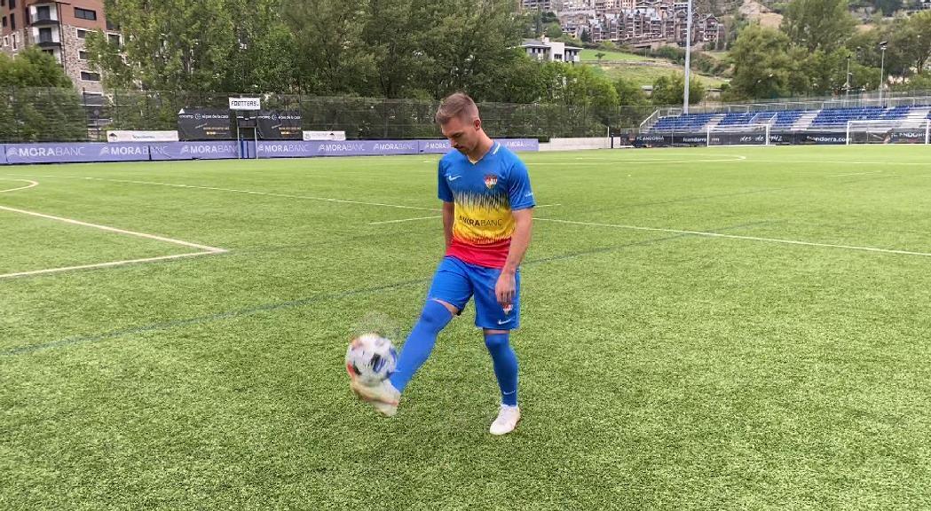 Rubén Enri arriba cedit de l'UD Almeria i es converteix en l'onzè reforç del FC Andorra