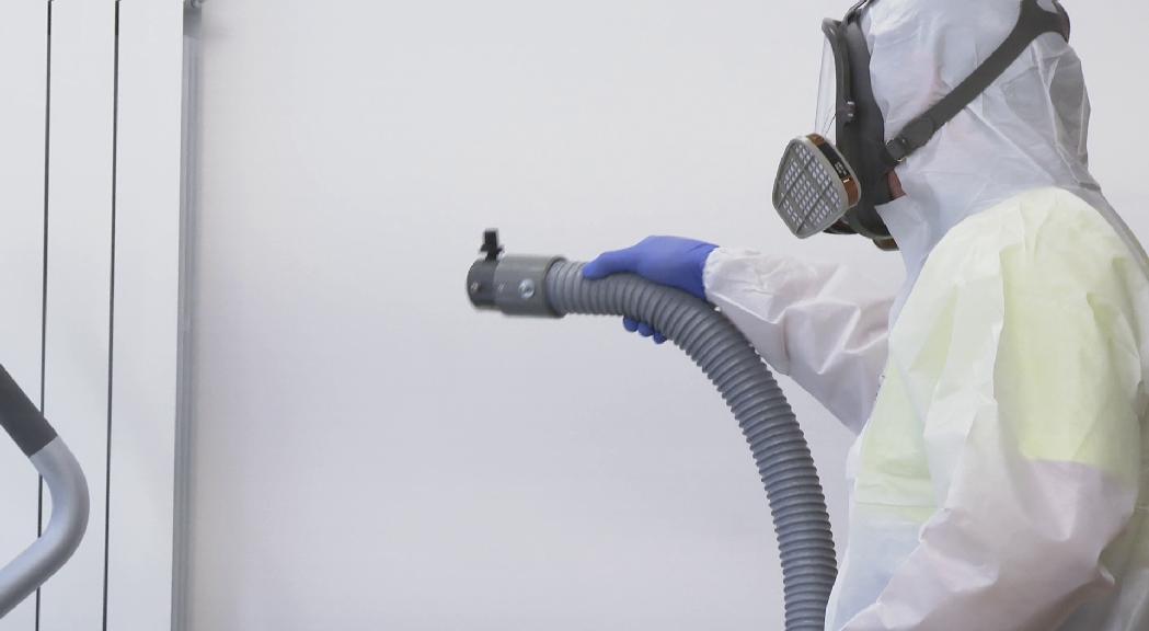 Salut desaconsella l'ús d'ozó com a desinfectant en locals
