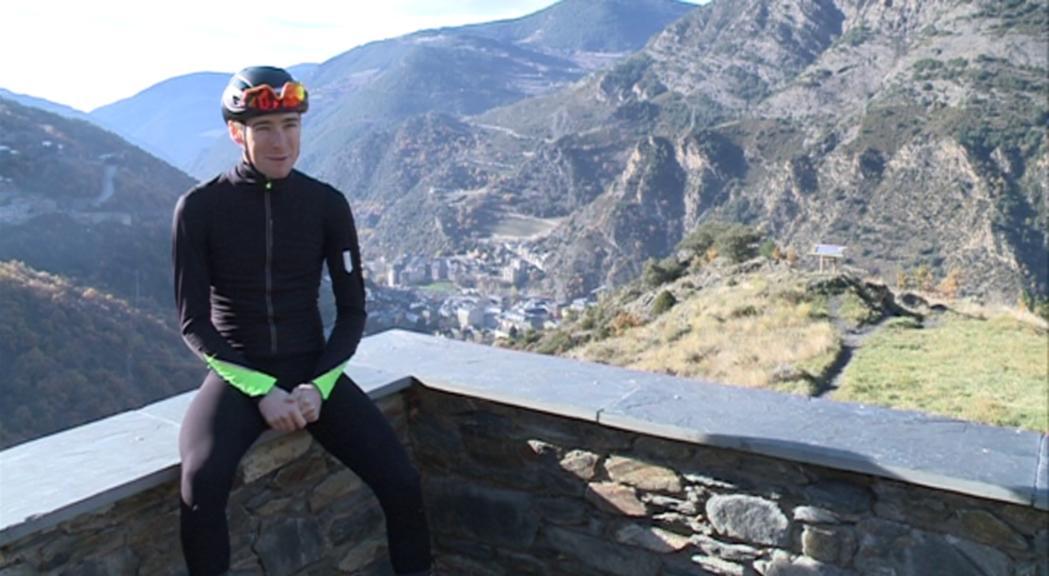 Samu Ponce encara la recta final per debutar en el ciclisme professional